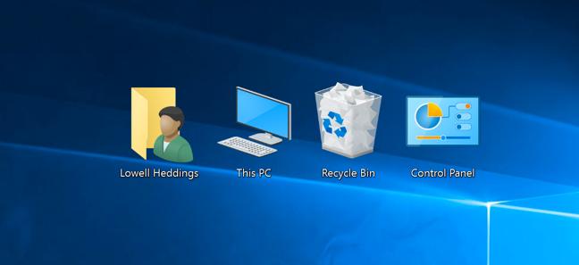 Как вывести мой компьютер на рабочий стол Windows 10