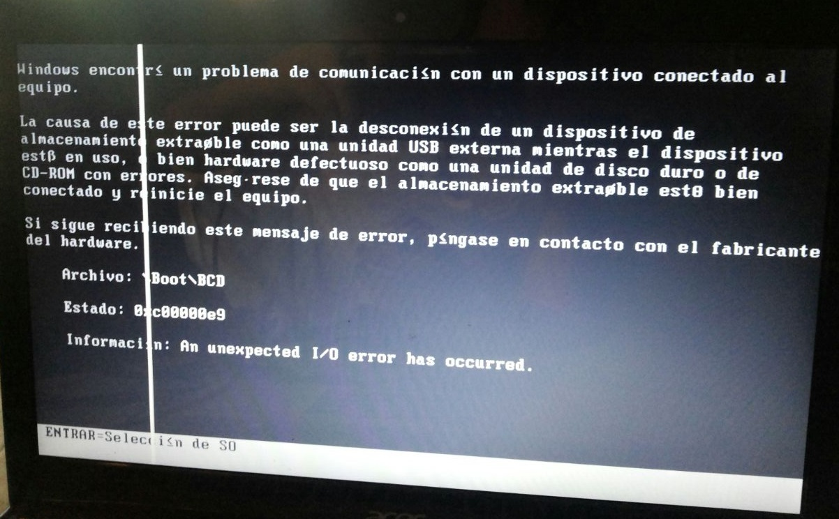 Как исправить ошибку 0xc00000e9 на Windows 10