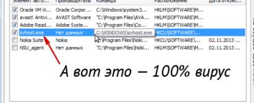 SVCHOST.EXE netsvcs грузит память и процессор